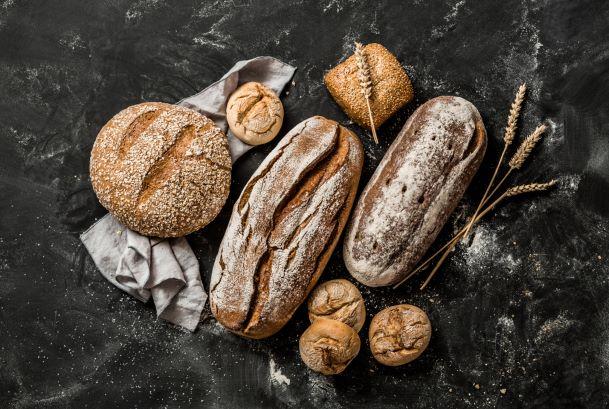 Druhy chlebů.