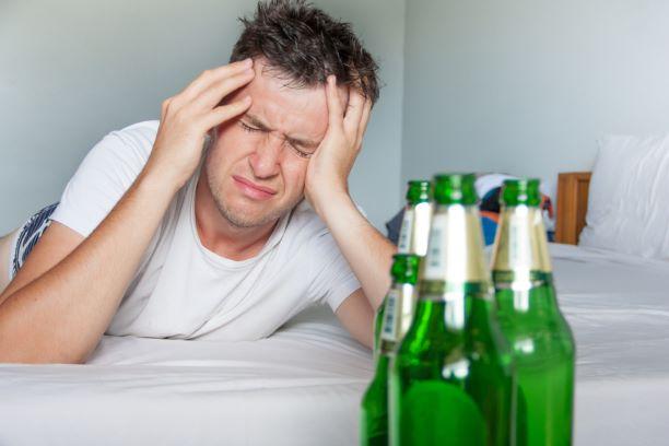 Bolesti hlavy během kocoviny