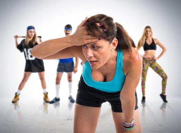 Cvičení odpovídající kondici