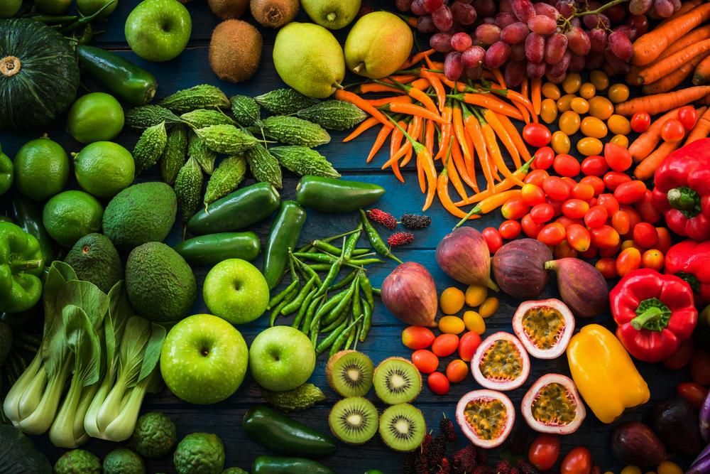 Pravidlo pěti - zelenina a ovoce 5x denně. Jak je vybírat?