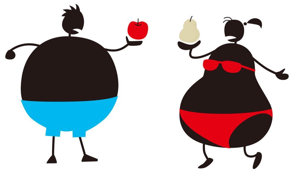 Jablko, nebo hruška? Typy obezit, jejich rizika a možná řešení