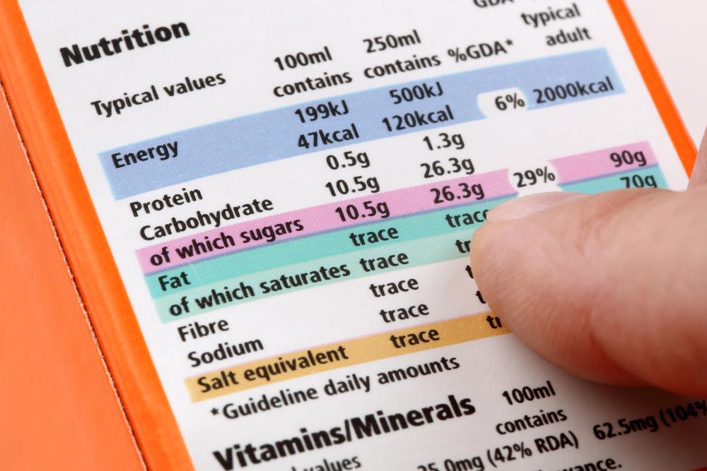Jak zdravěji nakupovat? Sledujte nutriční tabulku na obalech