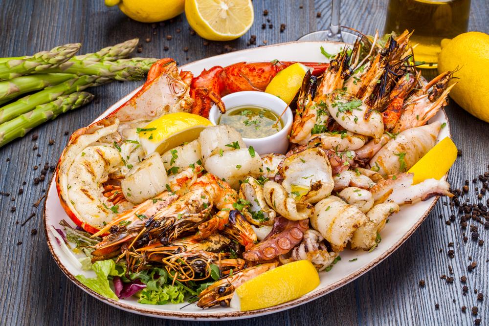 Mořské plody i řasy obohatí běžný jídelníček. Kolik si jich dát?