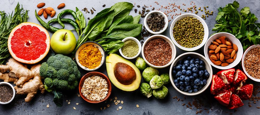 Zdravá skandinávská strava ze Shutterstock