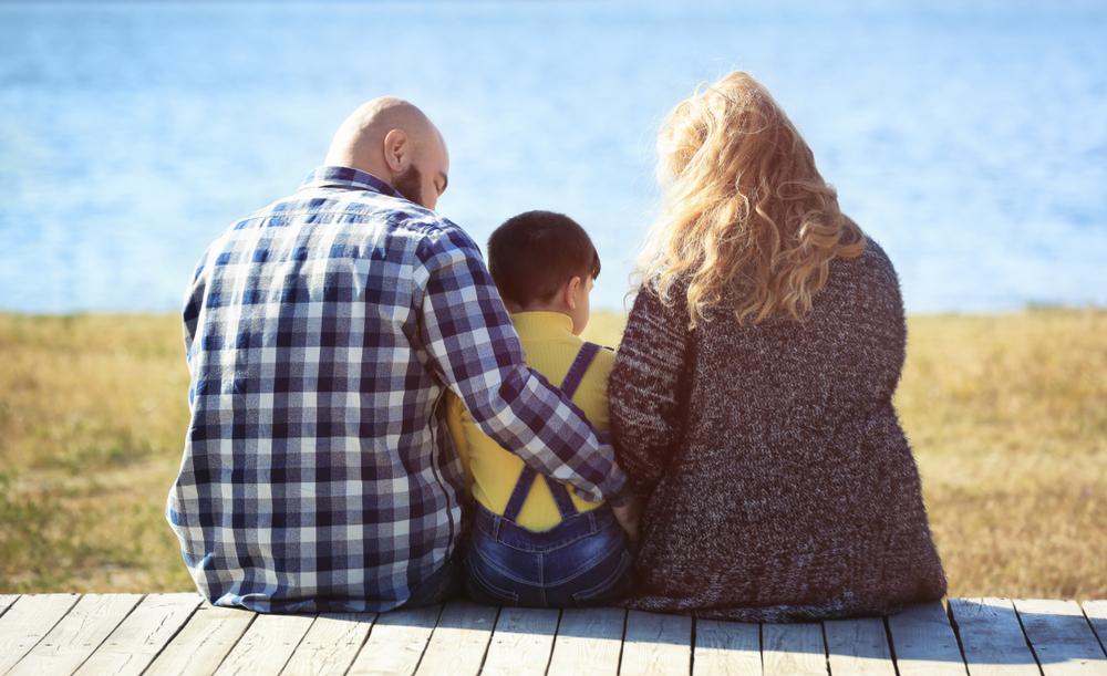 Obézní rodina ze Shutterstock.com