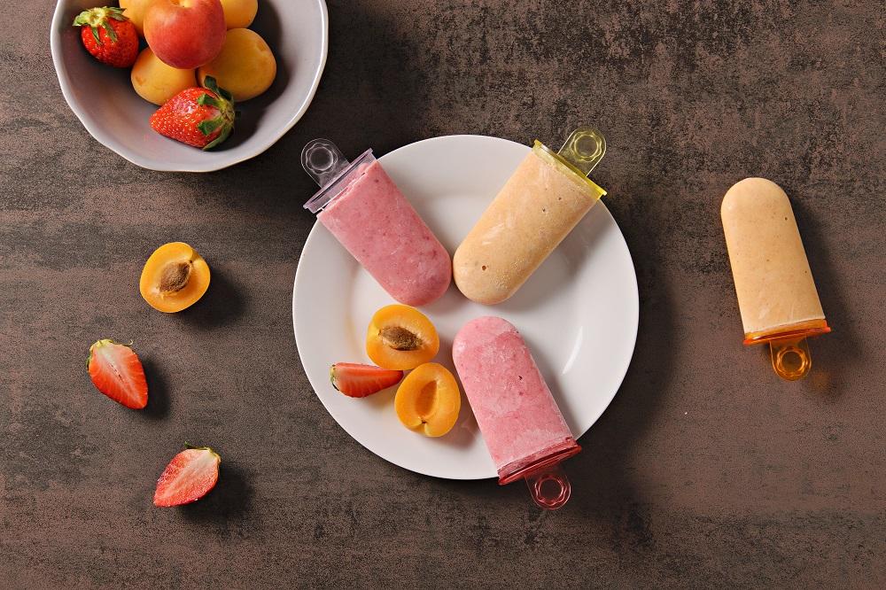 Domácí ovocná zmrzlina ze skyru