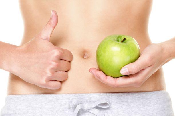 Jablka pomáhají zažívání