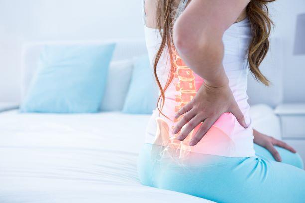 Bolesti zad způsobené ochablostí svalů