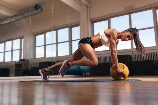 Nejlepší cviky pro pevný střed těla