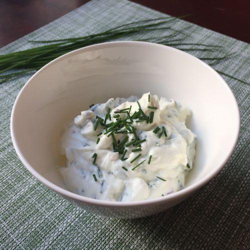 Lehká a snadná večeře - rané brambory a tvarohem | Vím, co jím