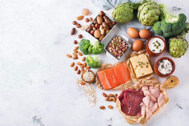 Jídelníček s vyrovnaným příjmem bílkovin