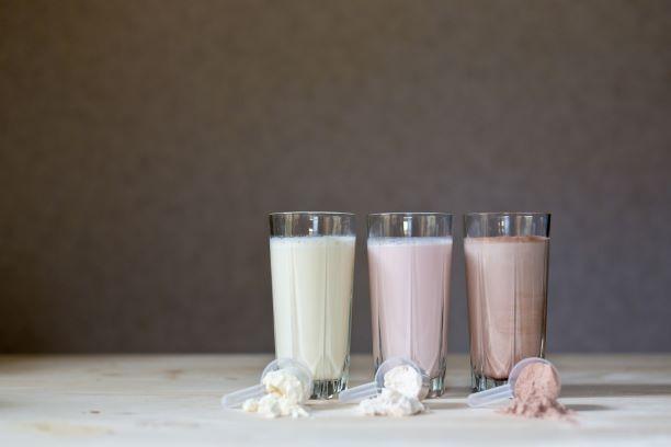 Příchutě proteinových nápojů
