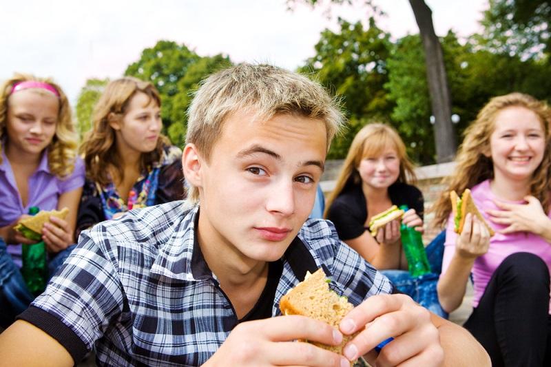 Revolta dospívajících je i na talíři