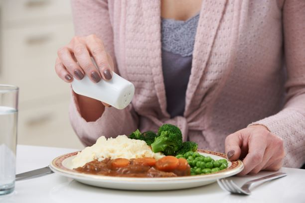 Sůl ve stravě