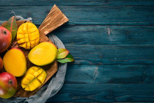 Mango je plné vitaminů a minerálních látek. Do jídelníčku jistě patří