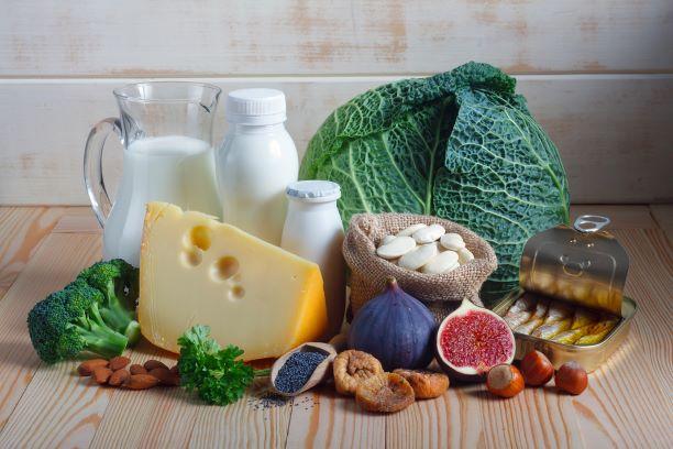 Potraviny pro pevné kosti