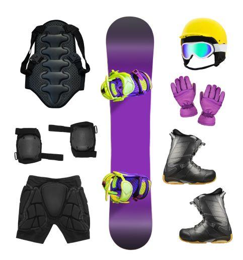 Chrániče na zimní sporty