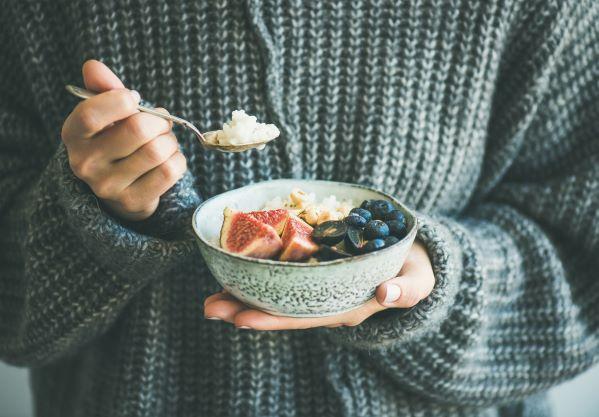 Obilná kaše je nutričně bohatá a navíc krásně zahřeje