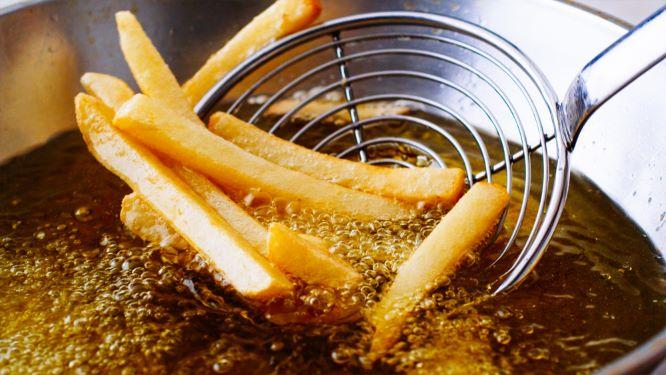 Výměna oleje při smažení