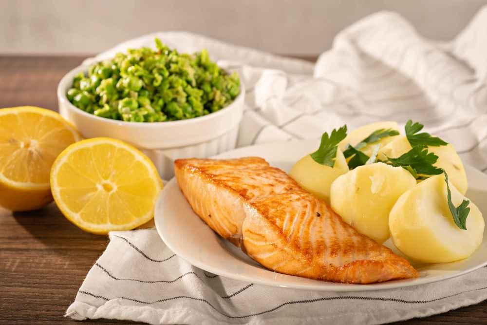 Zdravý recept - hlavní jídlo s lososem