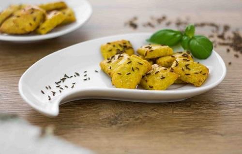 Tyčinky s curry a kmínem