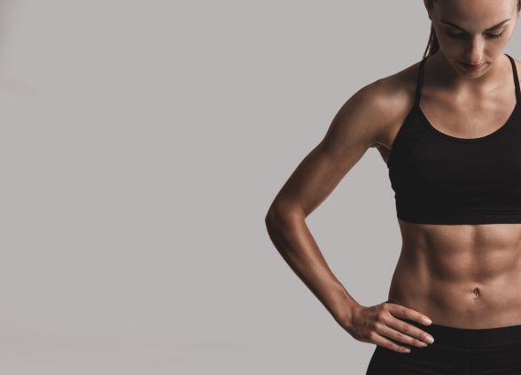 Každý máme břišní svaly - jen občas nejsou vidět