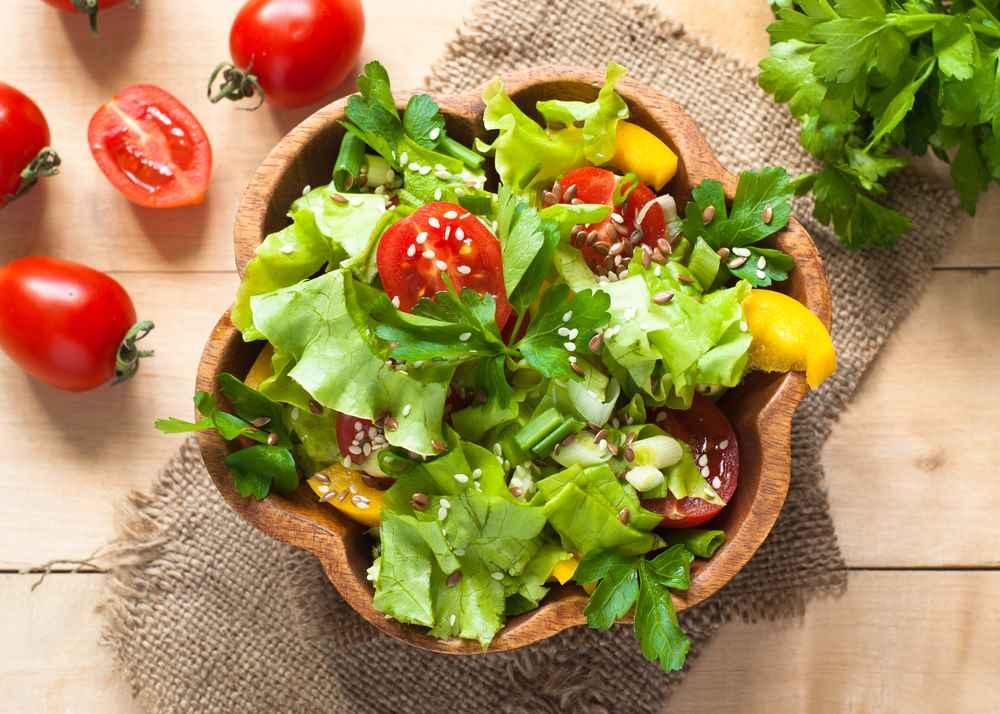 Lehké letní pokrmy se sezamovým semínkem