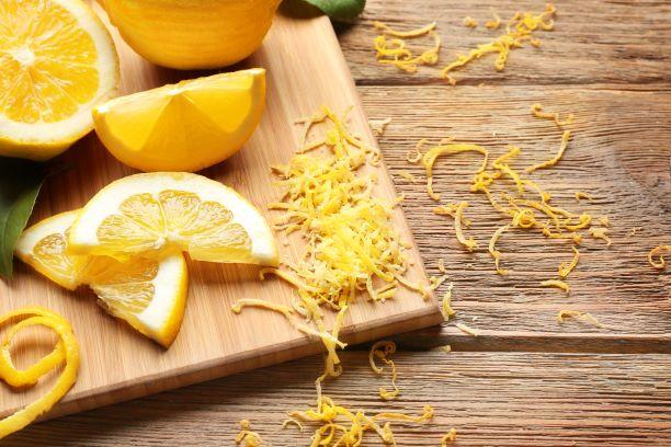 citrónová kůra