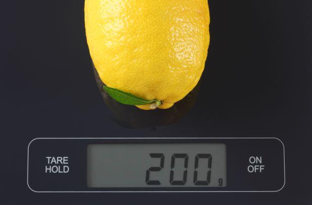 váha ovoce
