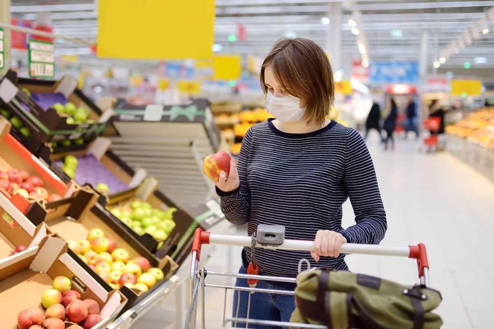 bezpečný nákup potravin
