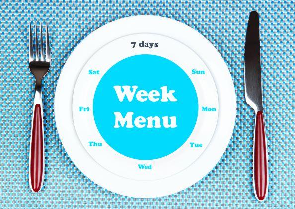 Týdenní odlehčený jídelníček. Jde to i bez masa