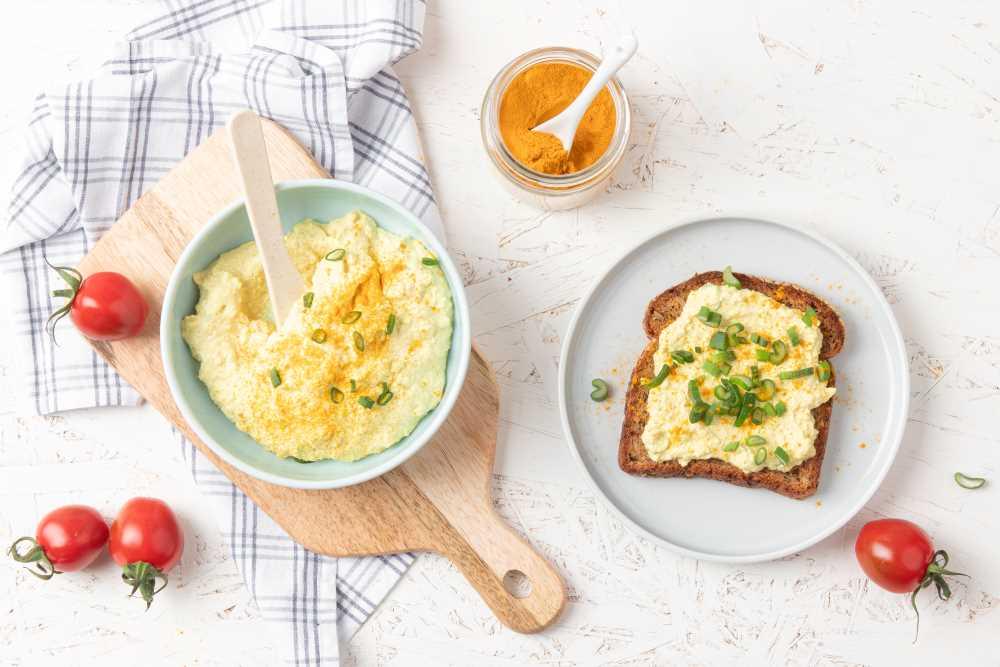 Tofu pomazánka à la vajíčková