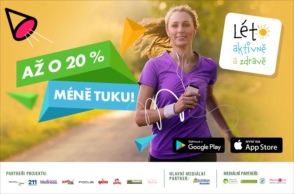 Prožijte léto aktivně a zdravě s mobilní aplikací