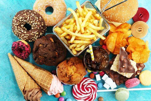 nezdravé potraviny