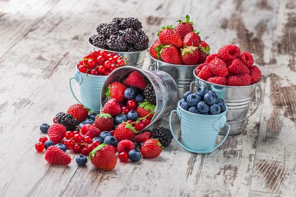 Superfoods ze zahrádky - bobulky plné přirozených antioxidantů