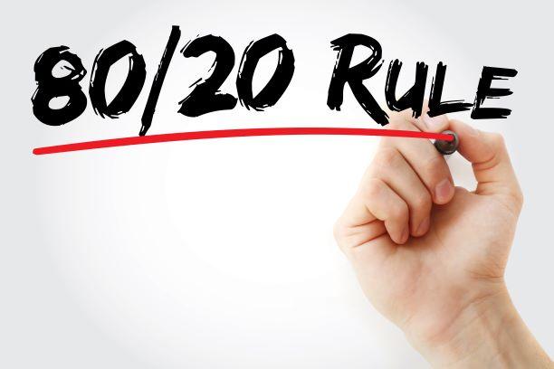 80/20 - zdravé pravidlo, které vydržíte dlouho