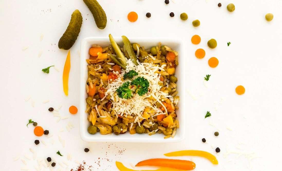 Pečené rizoto se zeleninou