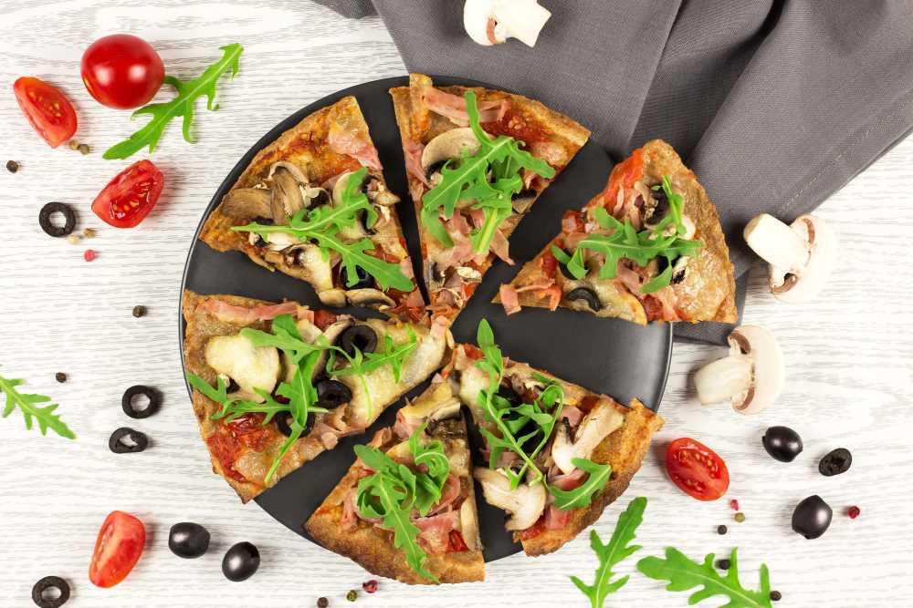 Rychlá pizza z celozrnné tortilly