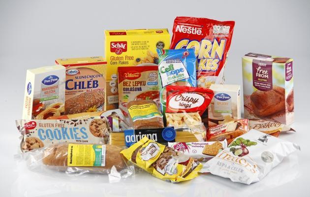 Srovnání bezlepkových potravin. Méně bílkovin a vlákniny