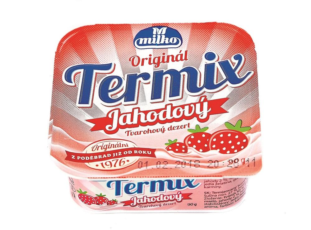 Milko Originál Termix Jahodový