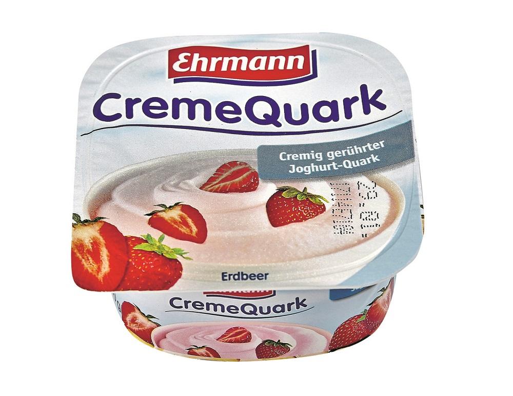 Ehrmann Creme Quark Jahoda