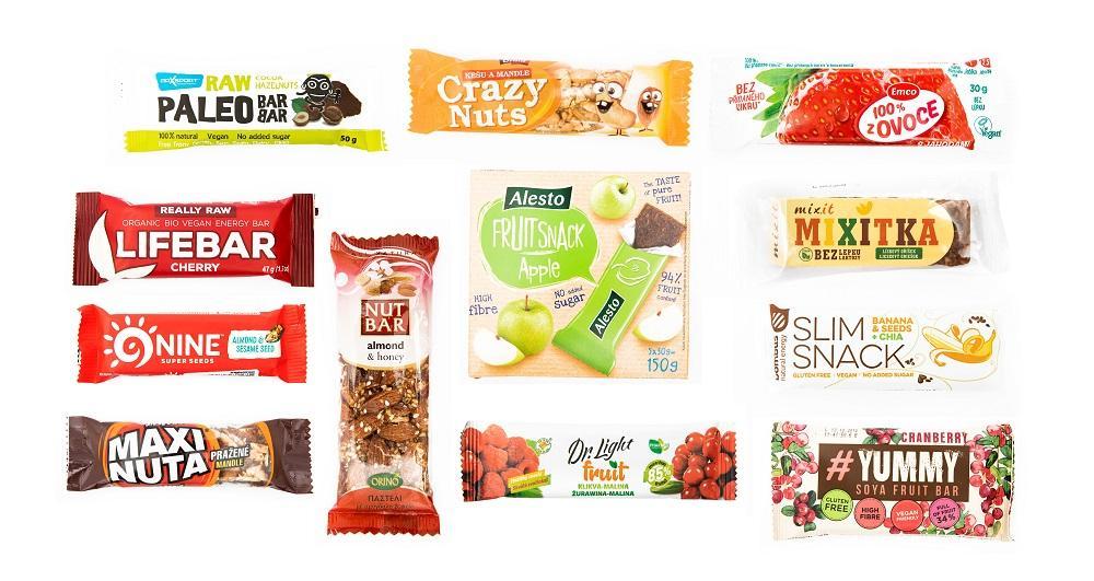 Velký test ovocných a ořechových tyčinek: Dejte si pozor na složení