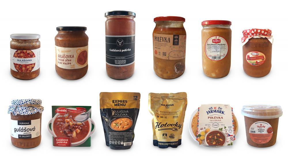 Test potravin: Analýza hotových gulášových polévek. Stačí jen ohřát!