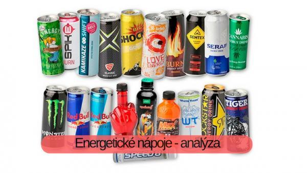 Energetické nápoje - analýza