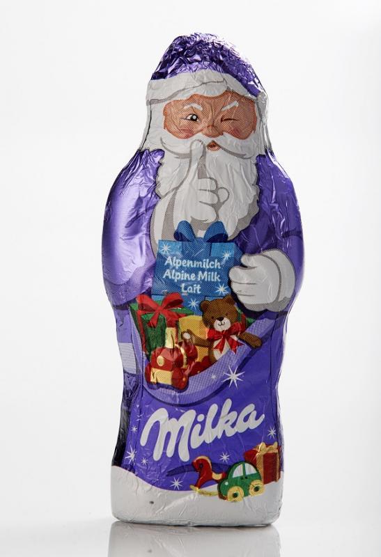 Milka Alpenmilch Santa