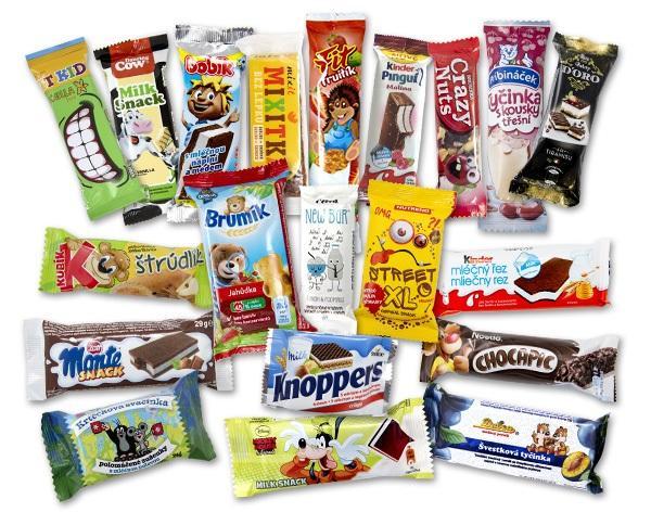 testování dětských sušenek, dětské snacky