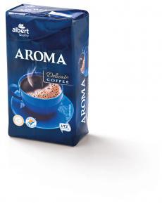 Albert Quality aroma mletá káva 250 g