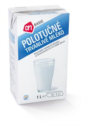 Albert Basic mléko polotučné