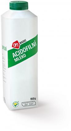 Acidofilní mléko 950 g, Albert Quality