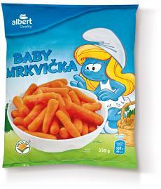 AQ Mrkev Baby 350 g